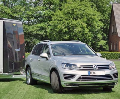 Macht was her: VW Touareg V6 TDI BlueMotion Technology 3,0 l V6 TDI SCR (© Doris Jessen)